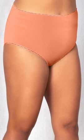 Cotton Jersey Lace Trim Underwear