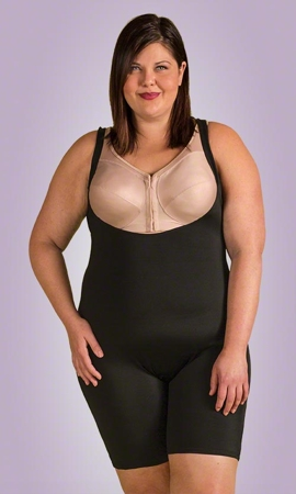 Full Body Solid Plus Size Supportwear 1X-8X