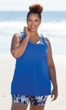 Sale Chlorine Resistant Solid Swim Top