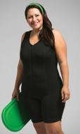 Rio Chlorine Resistant Solid Aquatard Swimsuit