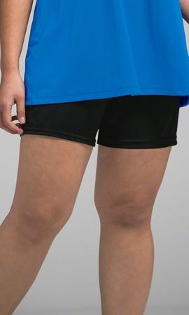 Chlorine Resistant Solid Plus Size Swim Shorts 1X-8X