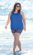 Polka Dot Chlorine Resistant Swim Shorts