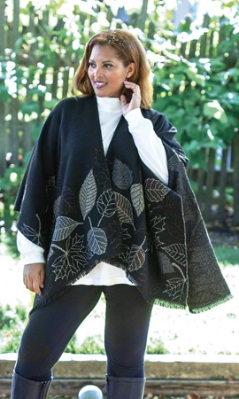 Sumac Plus Size Cape