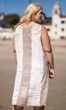 Embroidered Beaded Sleeveless Sunniva Sundress