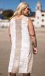 Embroidered Beaded Sleeveless Sunniva Sundress