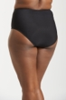 Always For Me Black Plus Size Jax Zip Front Tankini Bottom