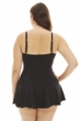 Always For Me Plus Size Illusion One Piece Swimsuit