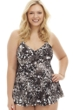 Always For Me by Penbrooke On-the-Prowl Plus Size Underwire Tankini Top