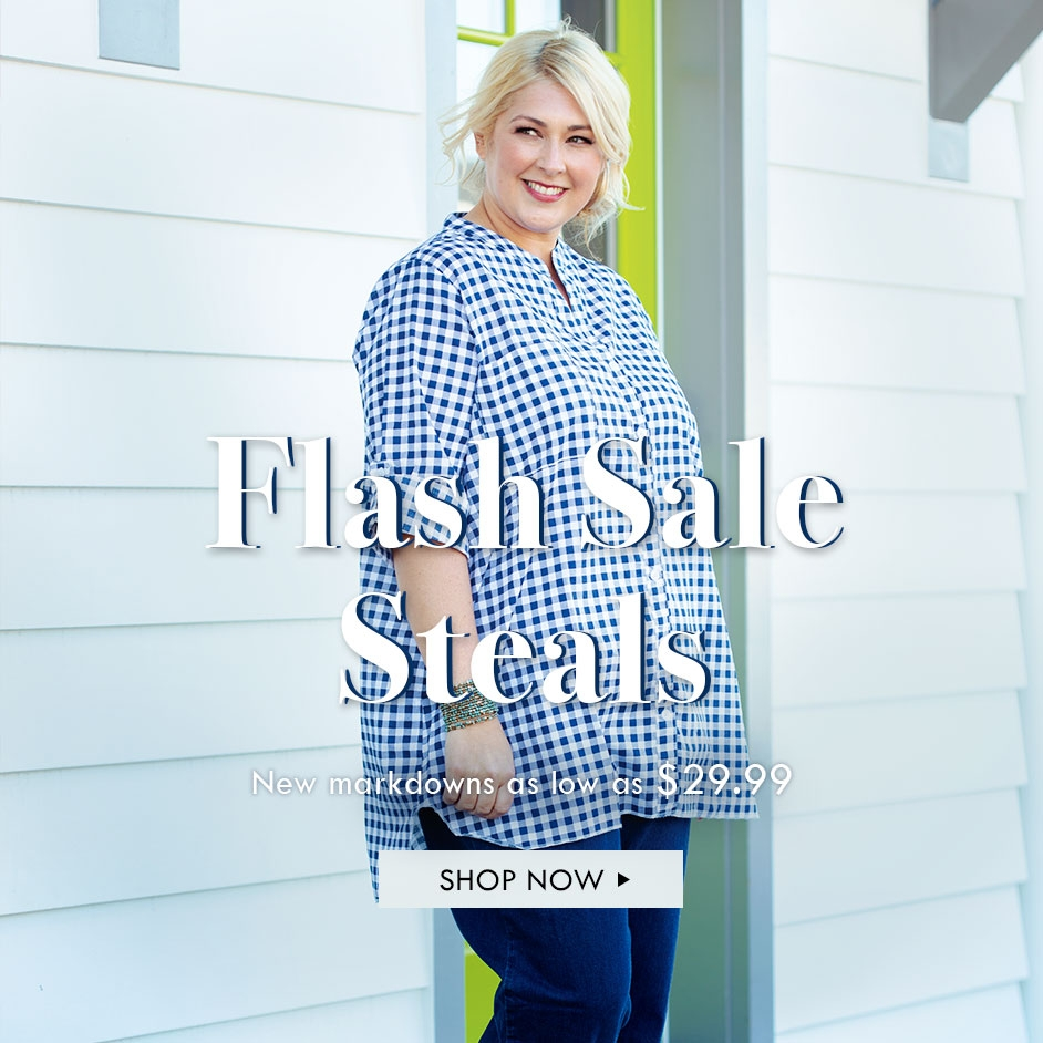 FLASH SALE - New markdowns as low as $29.99