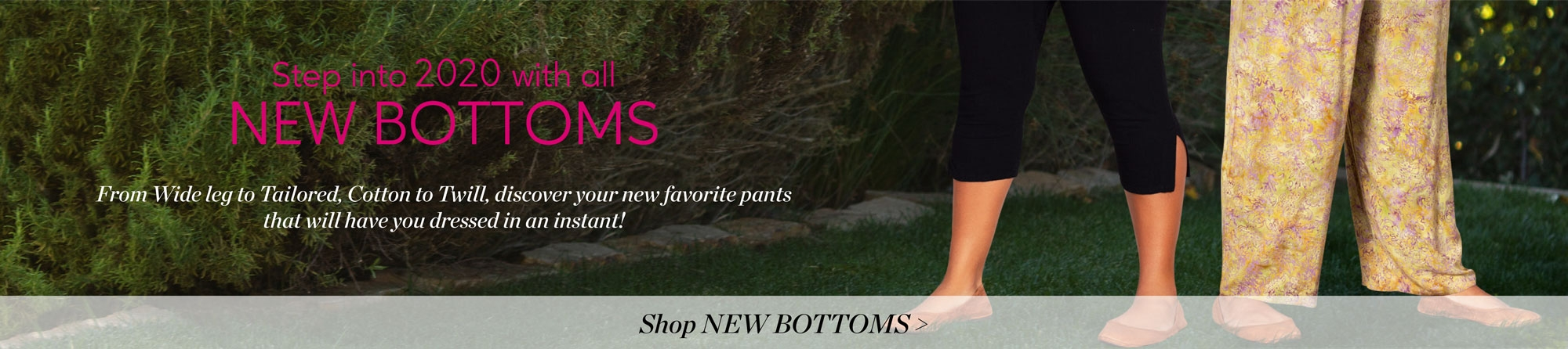 Shop All New Plus Size Bottoms - From Wide Leg to Tailored, Cotton to Twill - 4X to 8X Women's Plus Size Clothing on SALE