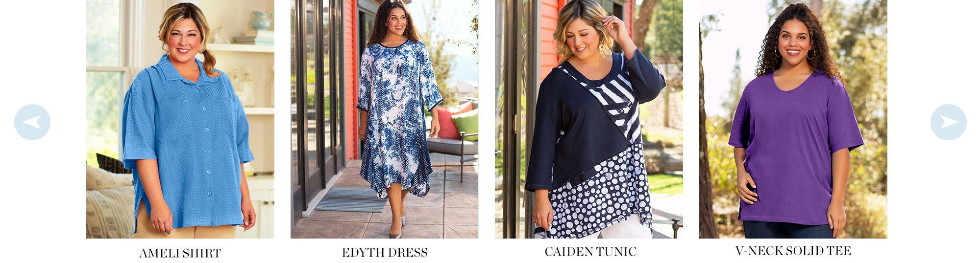 4X to 8X Women's Plus Size Clothing - Shop Summer New Arrivals