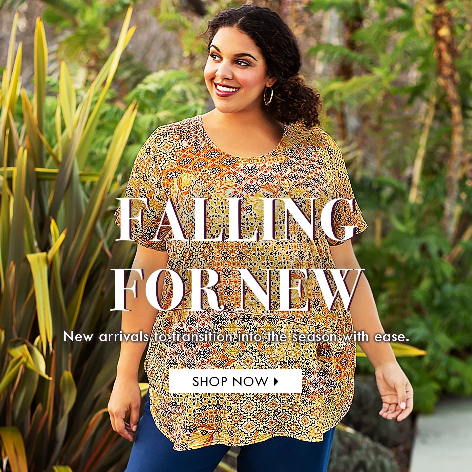 Falling For New - All New Arrivals, designed with you in mind