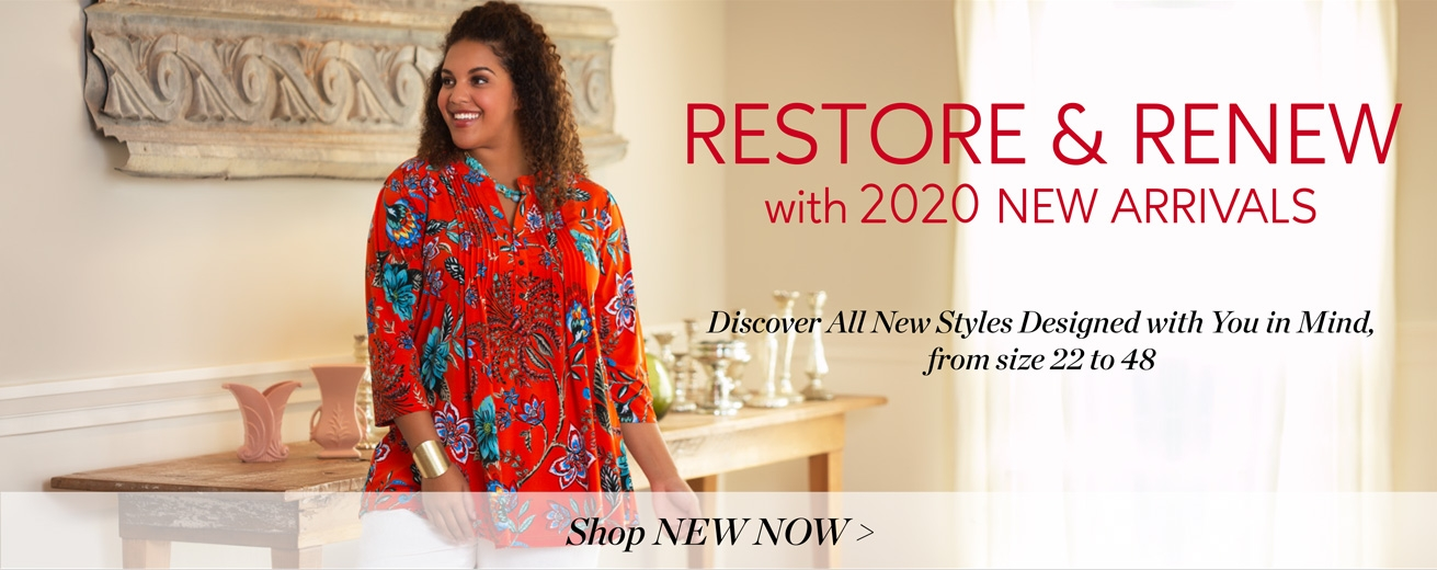 ON THE PLUS SIDE - New Arrivals: Women's Plus Size Clothing, from size 22 to 48