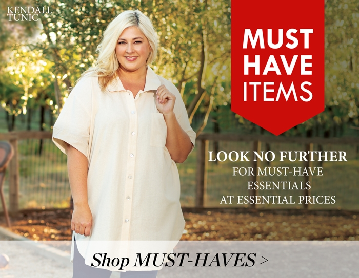 Women's PLUS SIZE Clothing: MUST HAVE Items