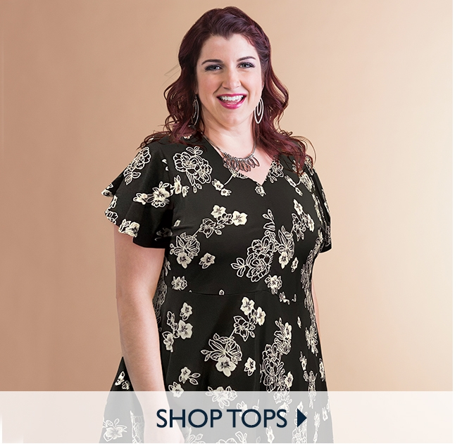 Shop New Plus Size Tops - 1X to 8X Women's Plus Size Clothing on SALE