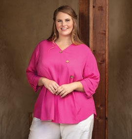 On The Plus Size Tops - Shop Now