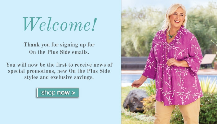 Welcome!  Shop Now